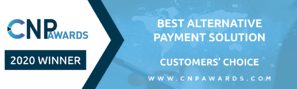 CNPAwards_Email Banner Template-Customer Choice_Best Alternative Payment Solution