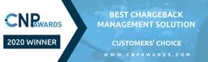 CNPAwards_Email Banner Template-Customer Choice_Best Chargebacks Management Solution
