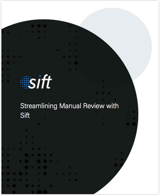 Streamlining Manual Review